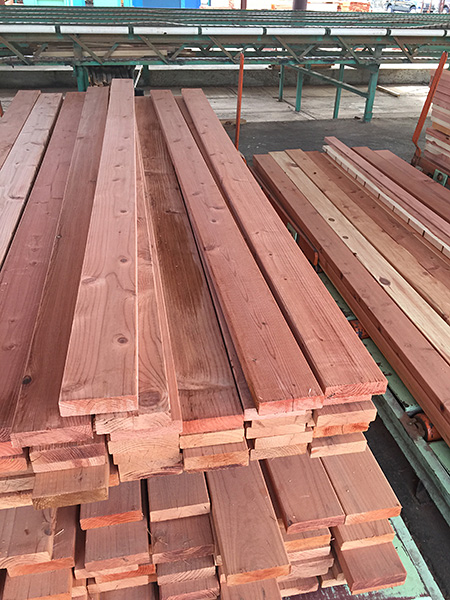 Redwood | Conrad Forest Products